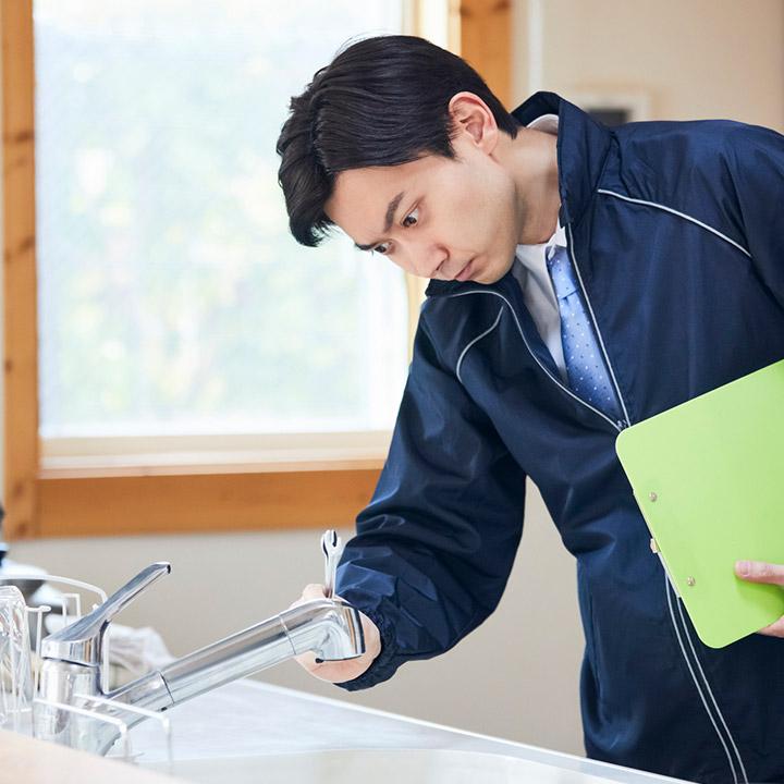 配管の水漏れ