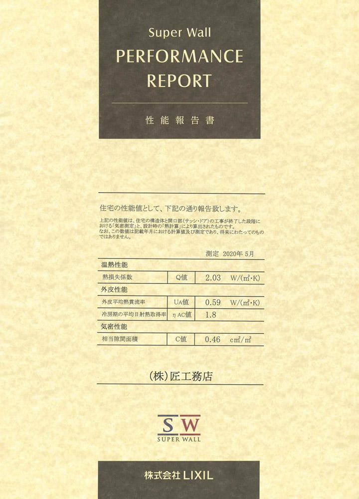 性能報告書(錦町)