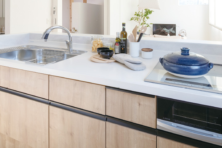 TRETTIO GRAD標準仕様-I型システムキッチン