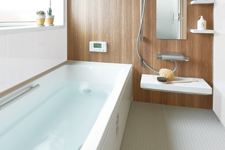 TRETTIO標準仕様-ユニットバスFRP浴槽