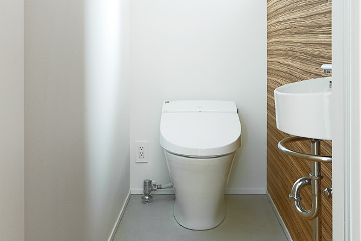 TRETTIO標準仕様-トイレ(温水洗浄便座)